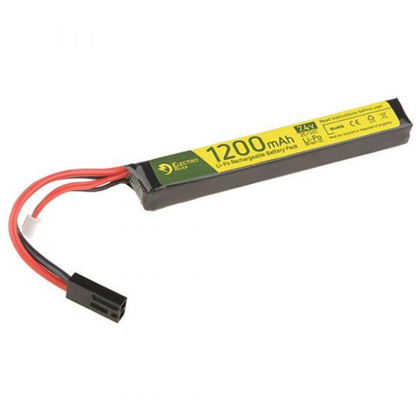 Electro River Li-Po Akku 7.4 V 1200 mAh Stick 25/50C Tam