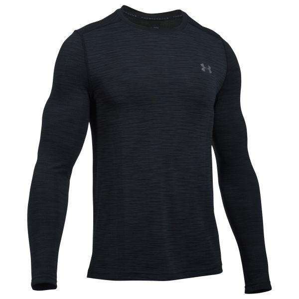 Under Armour Fitness LS Threadborne Seamless schwarz grau