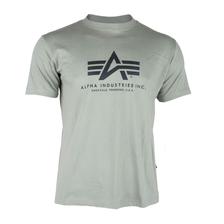 T-Shirt Alpha Industries Basic oliv