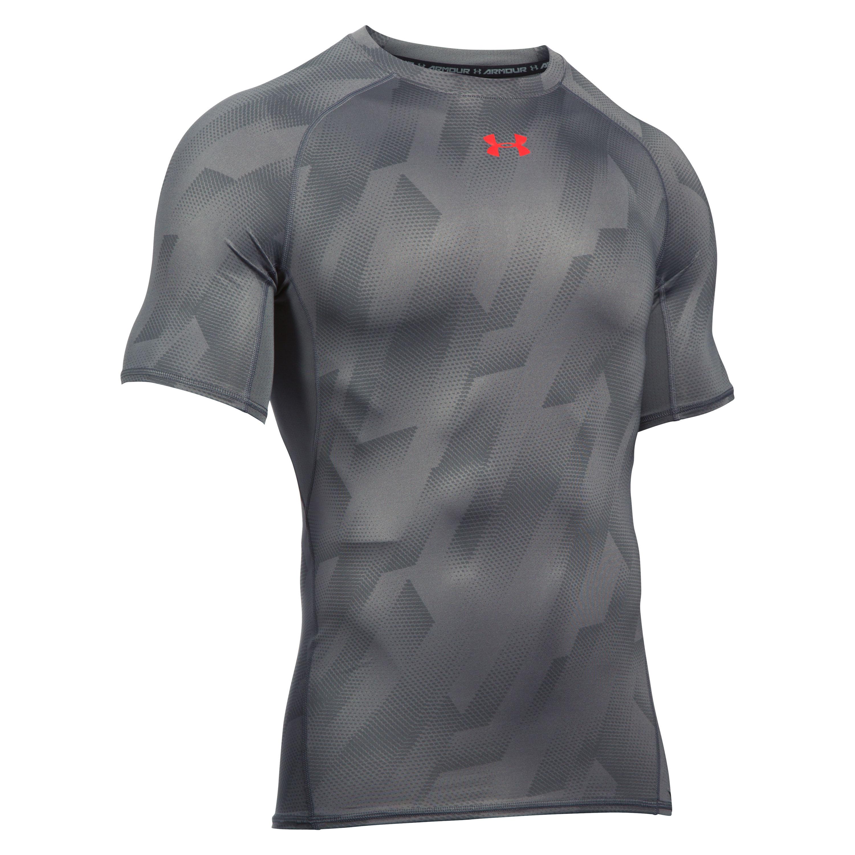 Under Armour Compression T-Shirt HeatGear grau