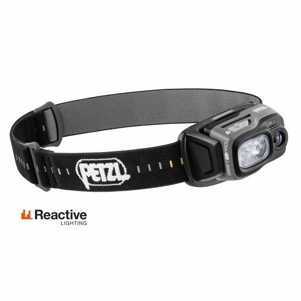 Petzl Stirnlampe Swift RL Pro schwarz