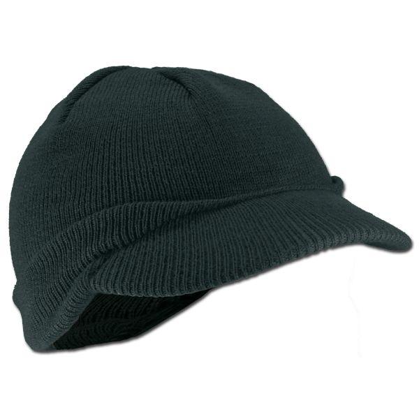 US GI Cap Wolle schwarz