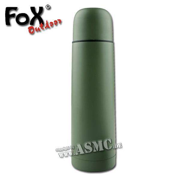 Vakuum Thermoflasche MFH 0,5 L oliv