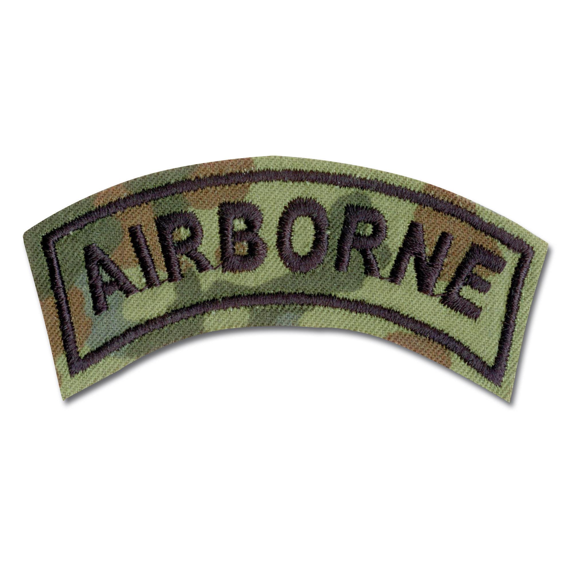 Armabzeichen Airborne flecktarn
