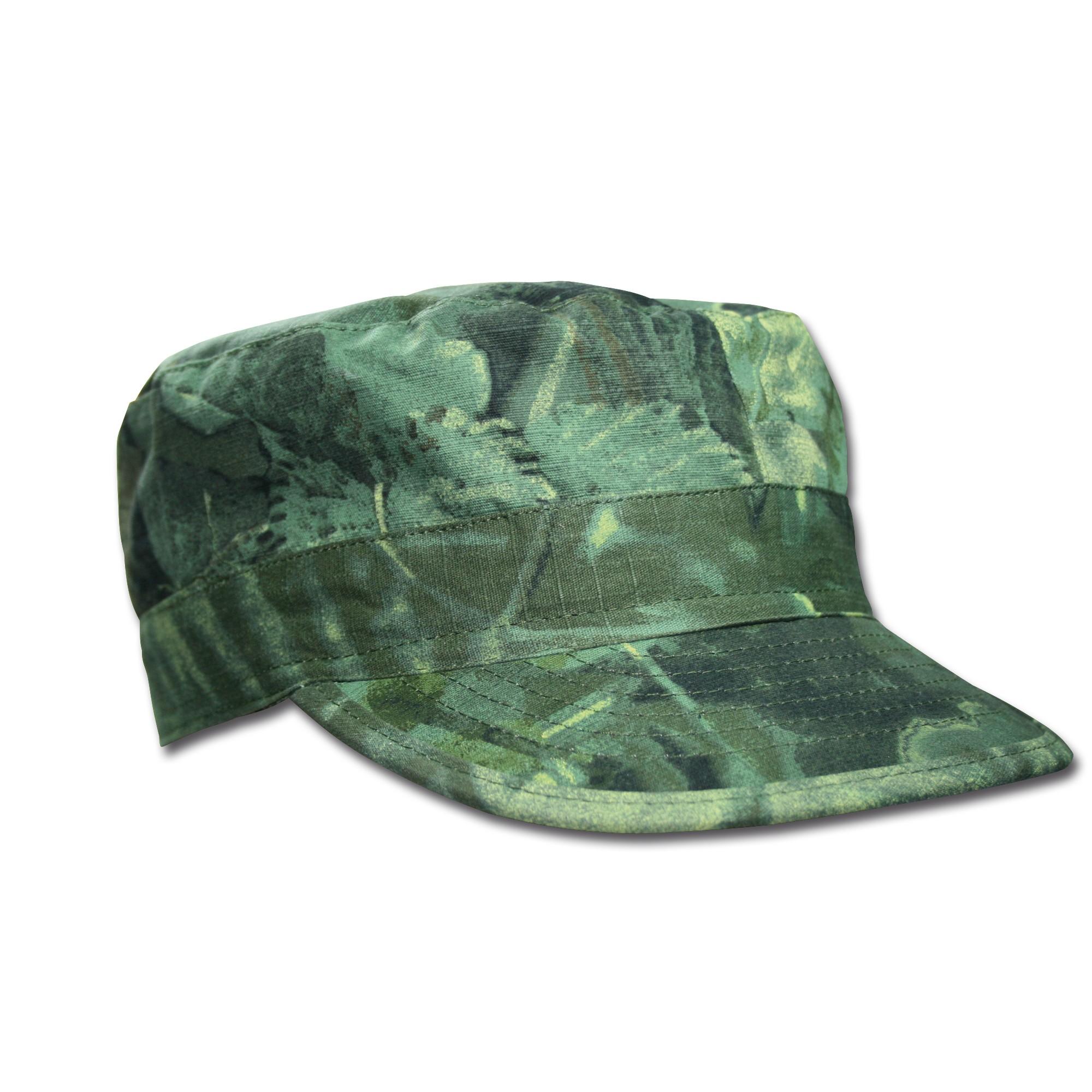 BDU Cap hunter grün Ripstop