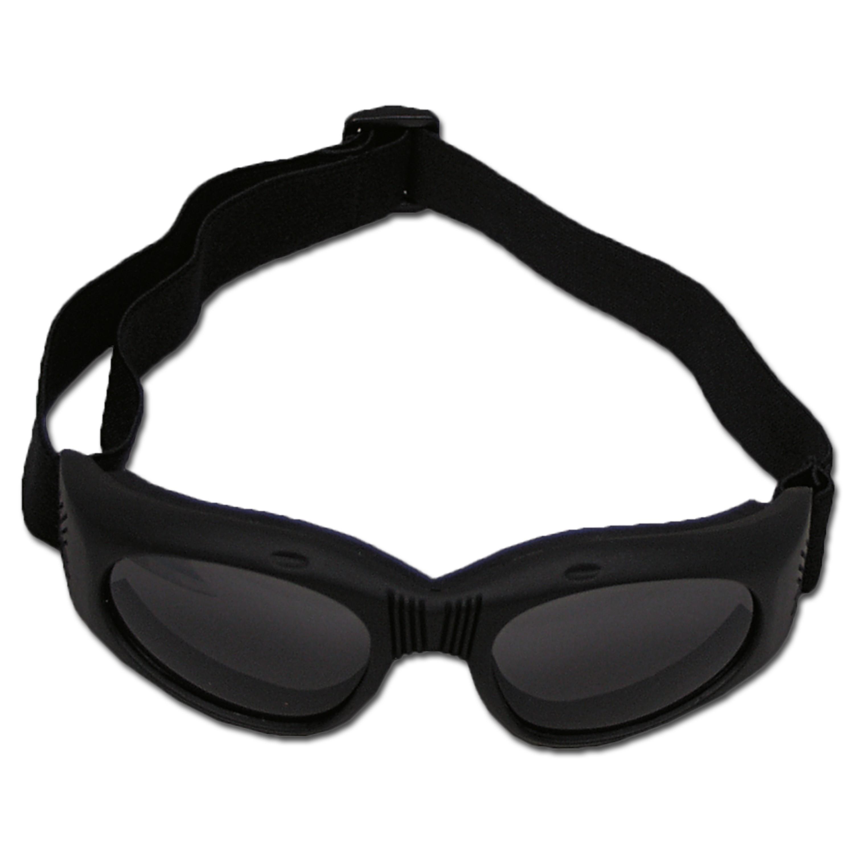 Bikerbrille Highway schwarz