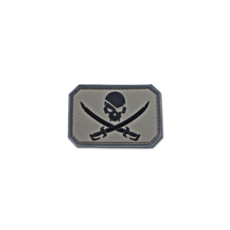 MilSpecMonkey Patch Pirate Skull PVC acu