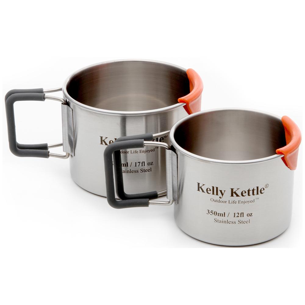 Kelly Kettle Tassen Set Edelstahl