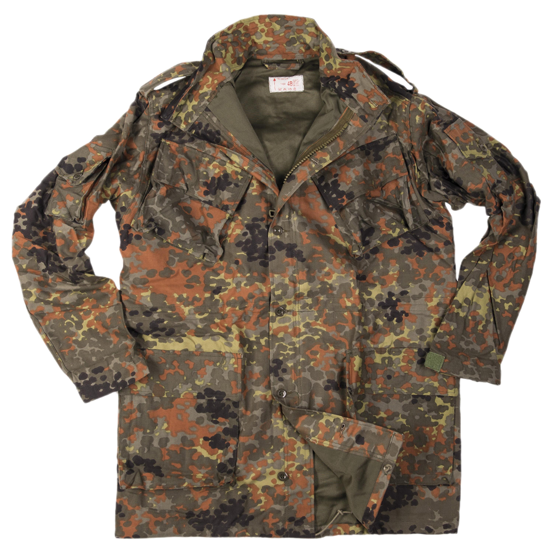 BW Style Sniper Jacket flecktarn neuwertig