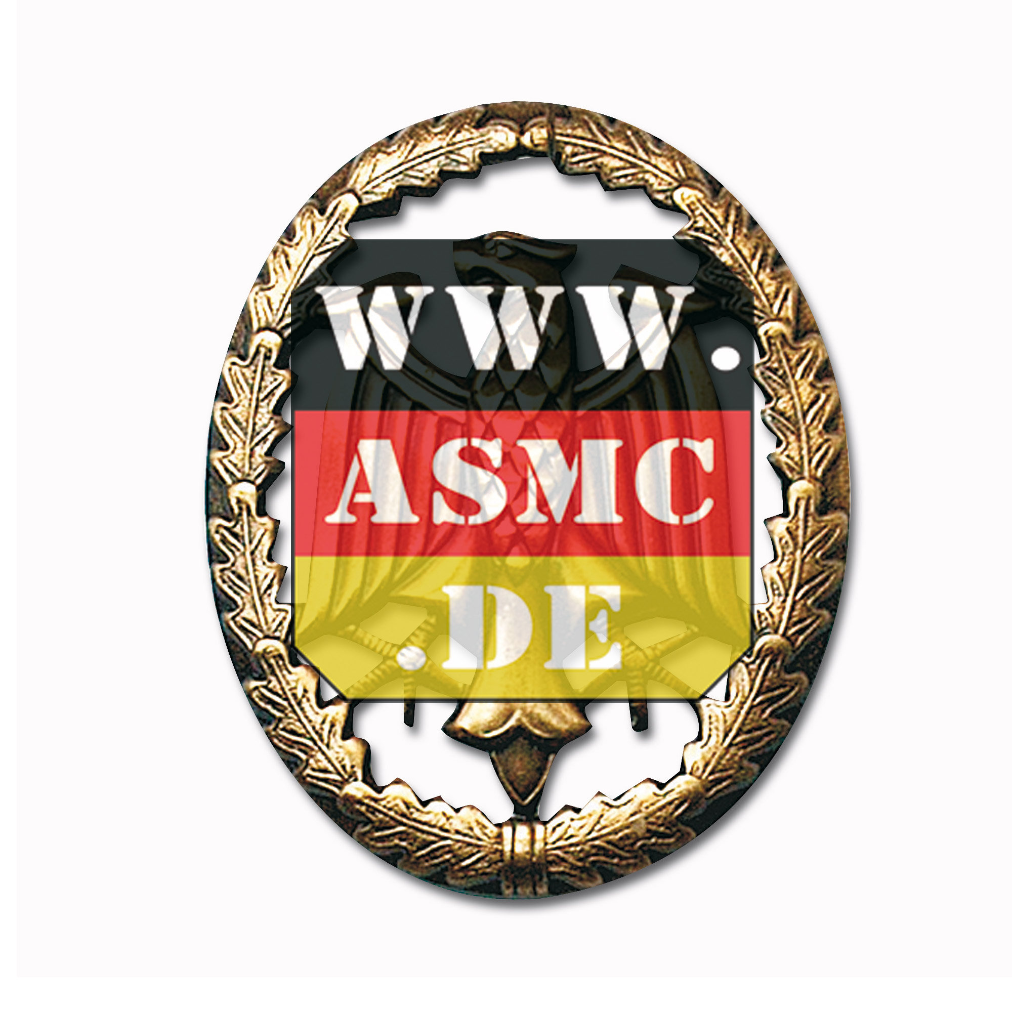 Leistungsabzeichen Metall bronze