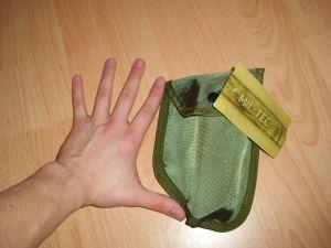 Verpackter Spaten