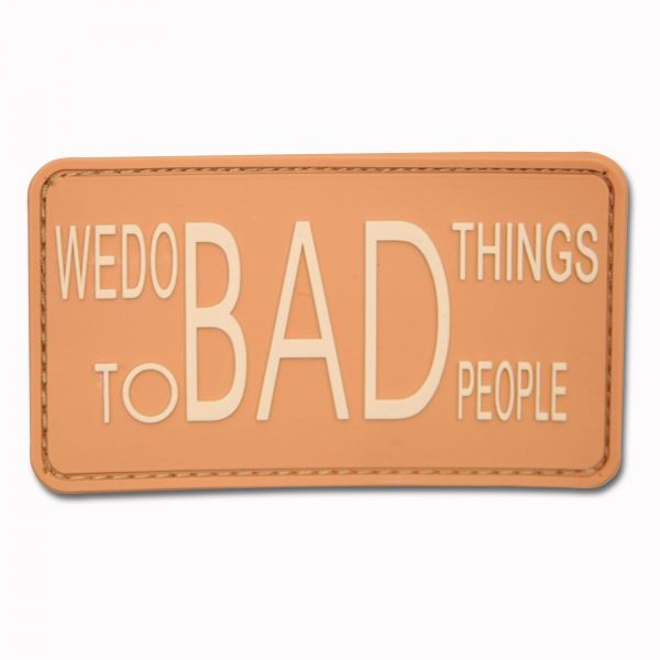 3D-Patch We do bad things to bad people coyote