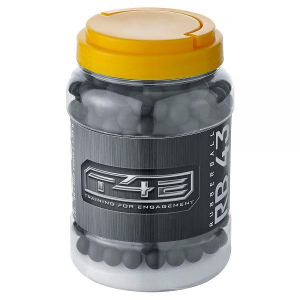 T4E Home Defense Rubberballs Kaliber .43 500 Stück schwarz