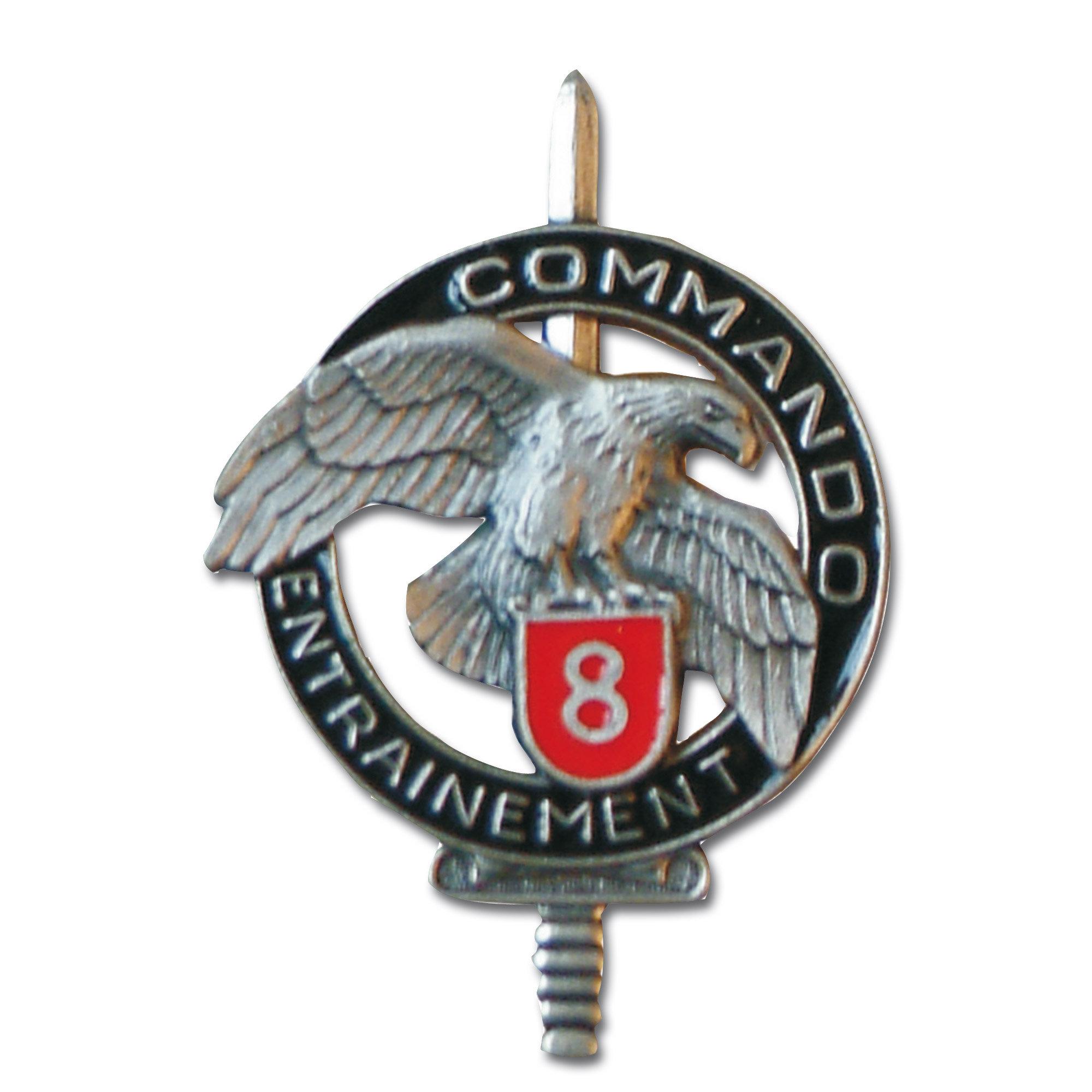 Abzeichen franz. Commando CEC 8