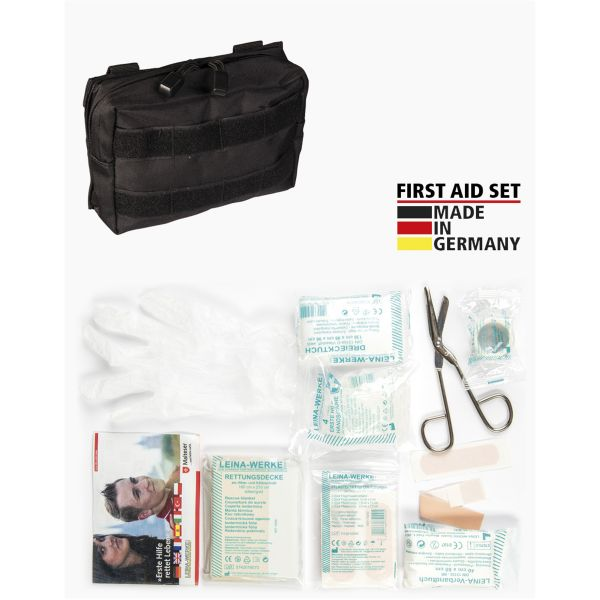 Leina Erste-Hilfe-Set Pro 25-tlg schwarz