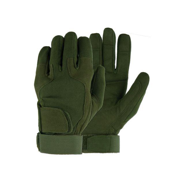 Fingerhandschuhe MFH Stripes oliv