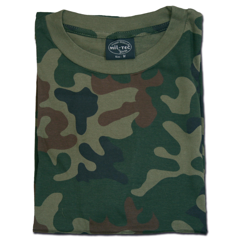 T-Shirt polnisch tarn