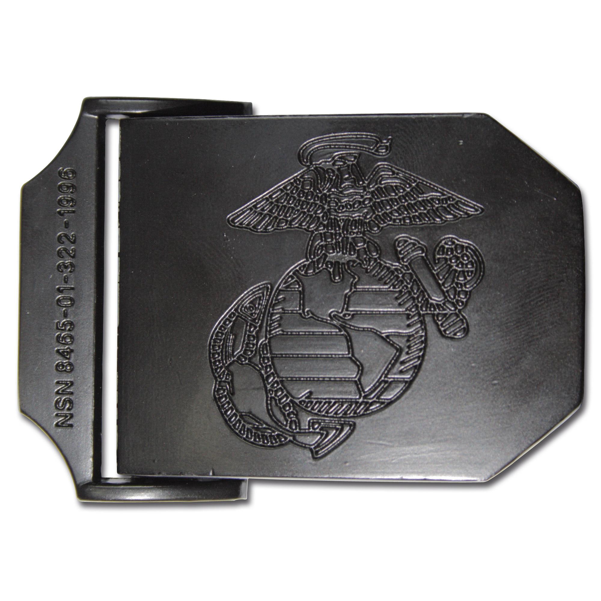 USMC Gürtel schwarz