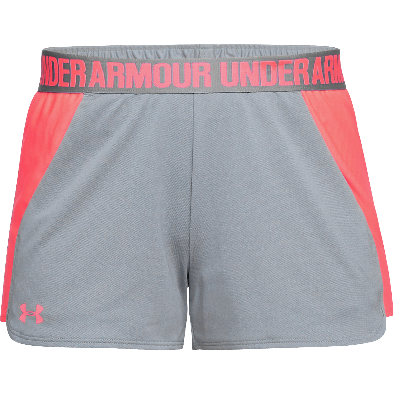 Under Armour Women Short Play Up 2.0 grau rosa