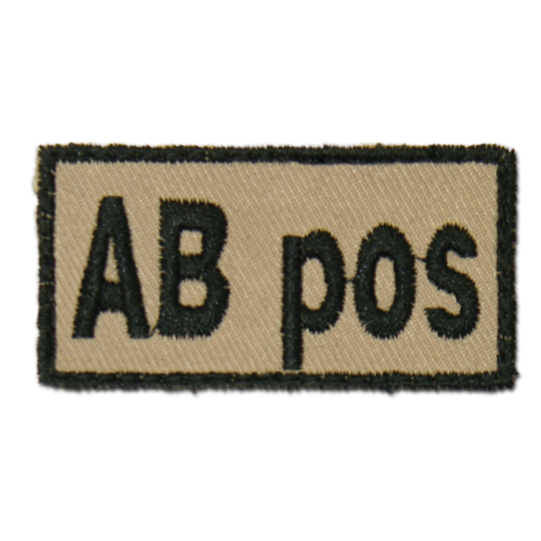 Abzeichen Bloodpatch AB pos khaki