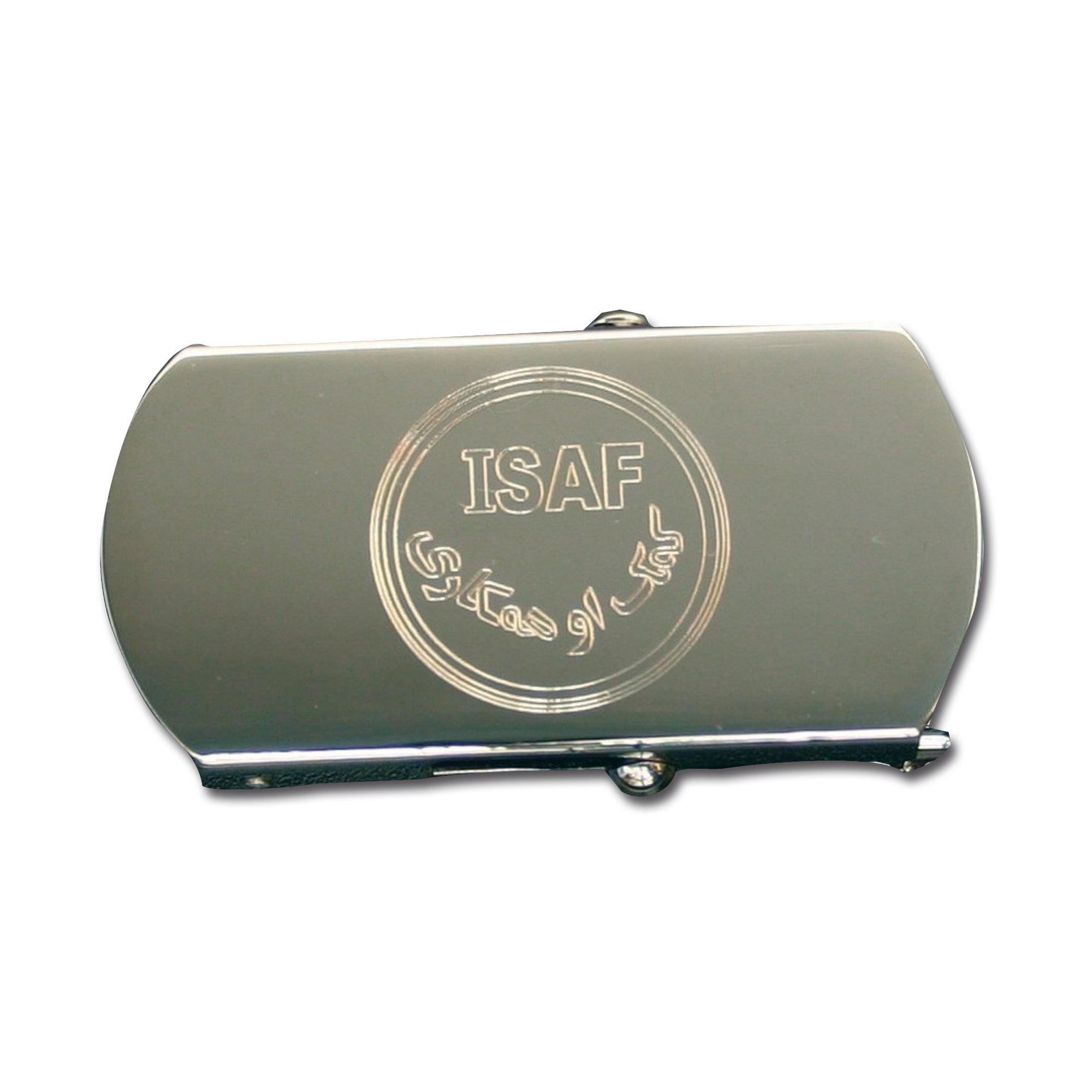 Hosengürtel mit Gürtelschnalle ISAF
