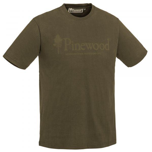 Pinewood T-Shirt Life Outdoor oliv