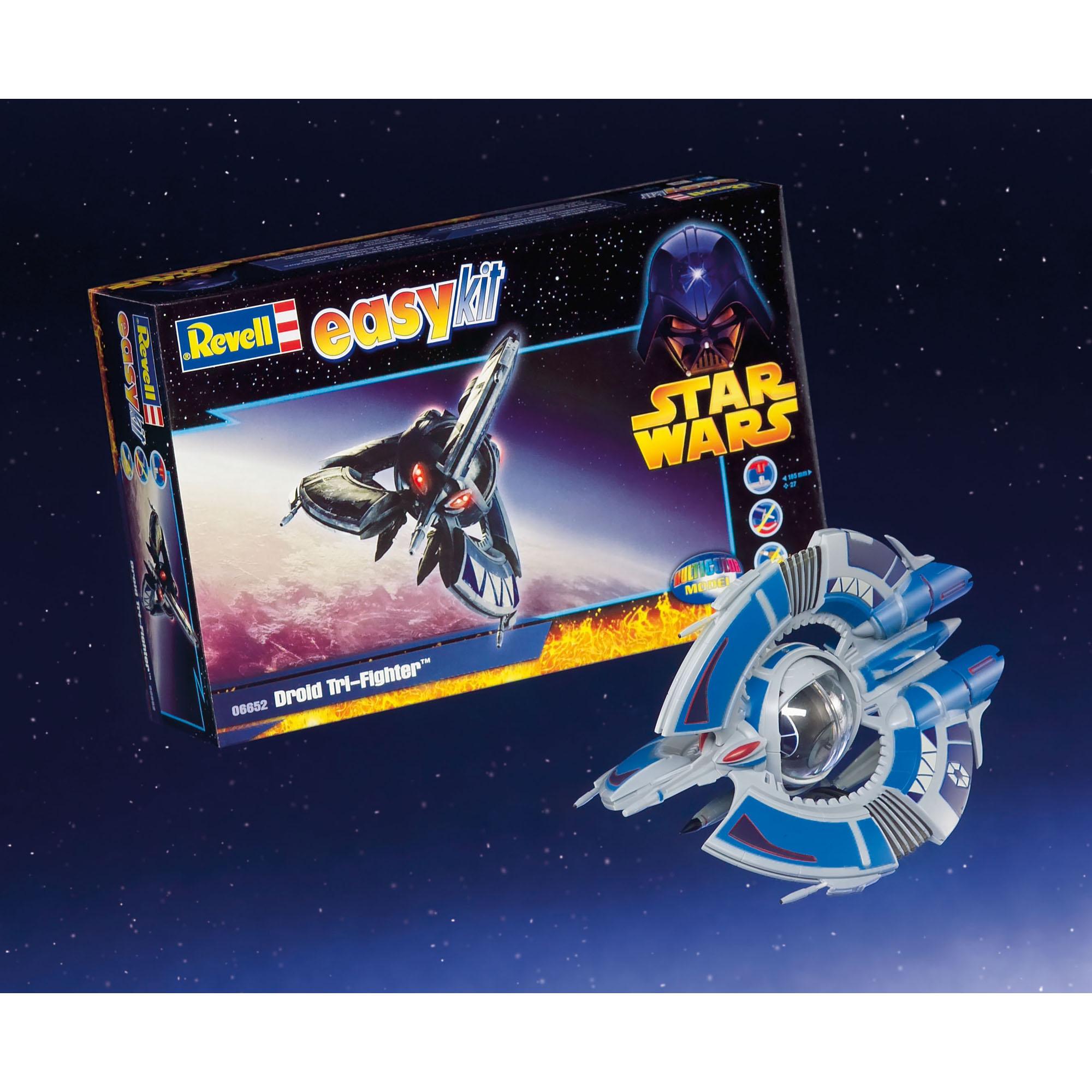 Revell STAR WARS Droid Tri-Fighter Easy Kit
