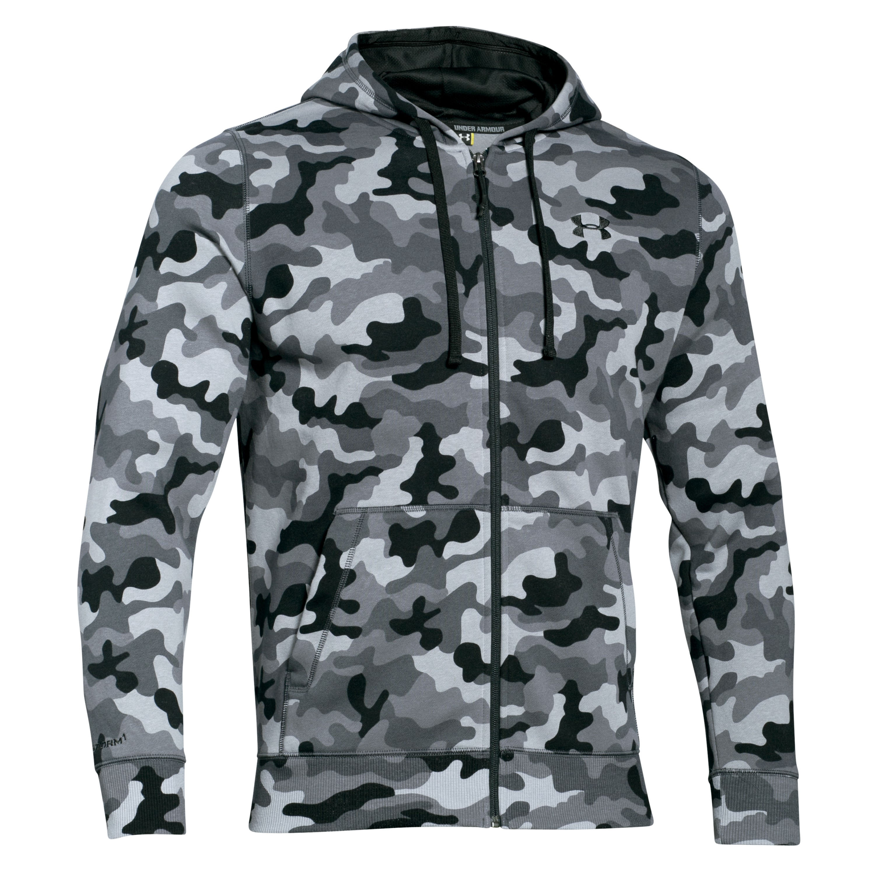 Under Armour Fleecepullover Storm Rival Novelty schwarz