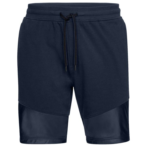 Under Armour Shorts Threadborne Terry blau