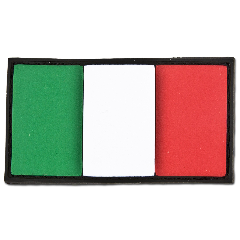 3D-Patch Italien Fahne
