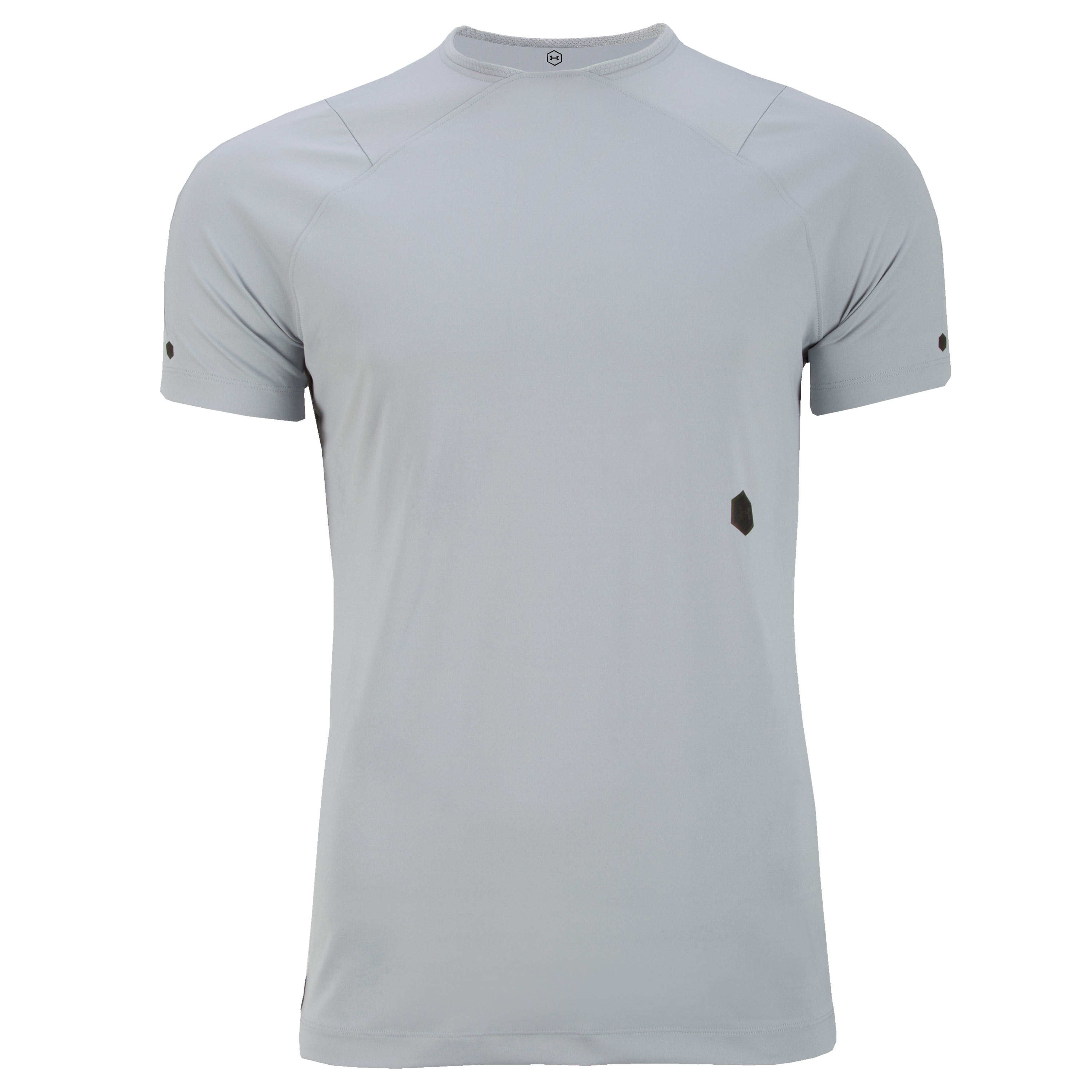 Under Armour Shirt Rush SS grau