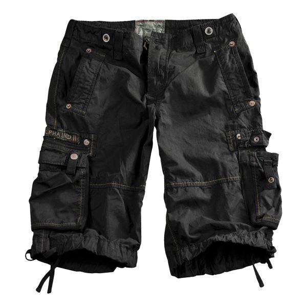 Alpha Industries Shorts Terminal schwarz