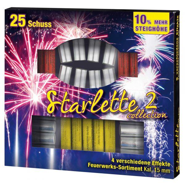 Umarex Feuerwerk Starlette Collection 2 cal. 15 mm 25 Stück