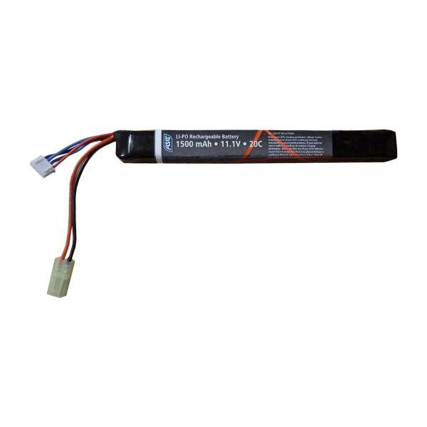 ASG Airsoft Akku Stick Type 11.1V 1500 mAh LI-PO