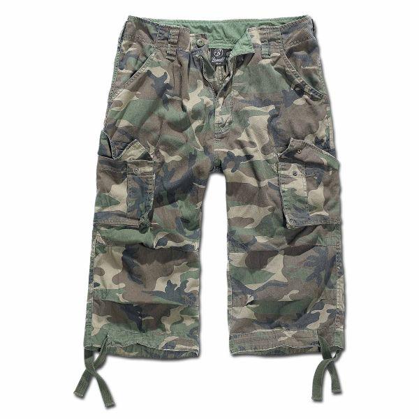 Brandit Shorts 3/4 Urban Legend woodland