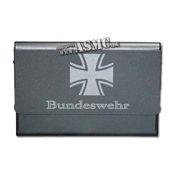 Visitenkartenetui Mit Gravur Bundeswehr Ek