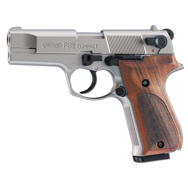 Pistole Walther P88 vernickelt