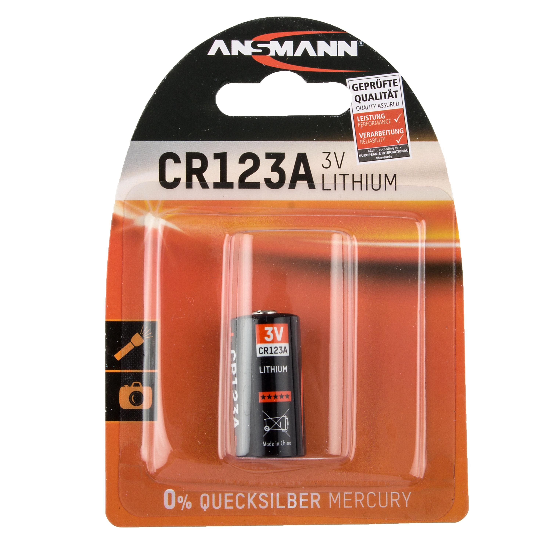 Lithium Foto Batterie Ansmann CR123A