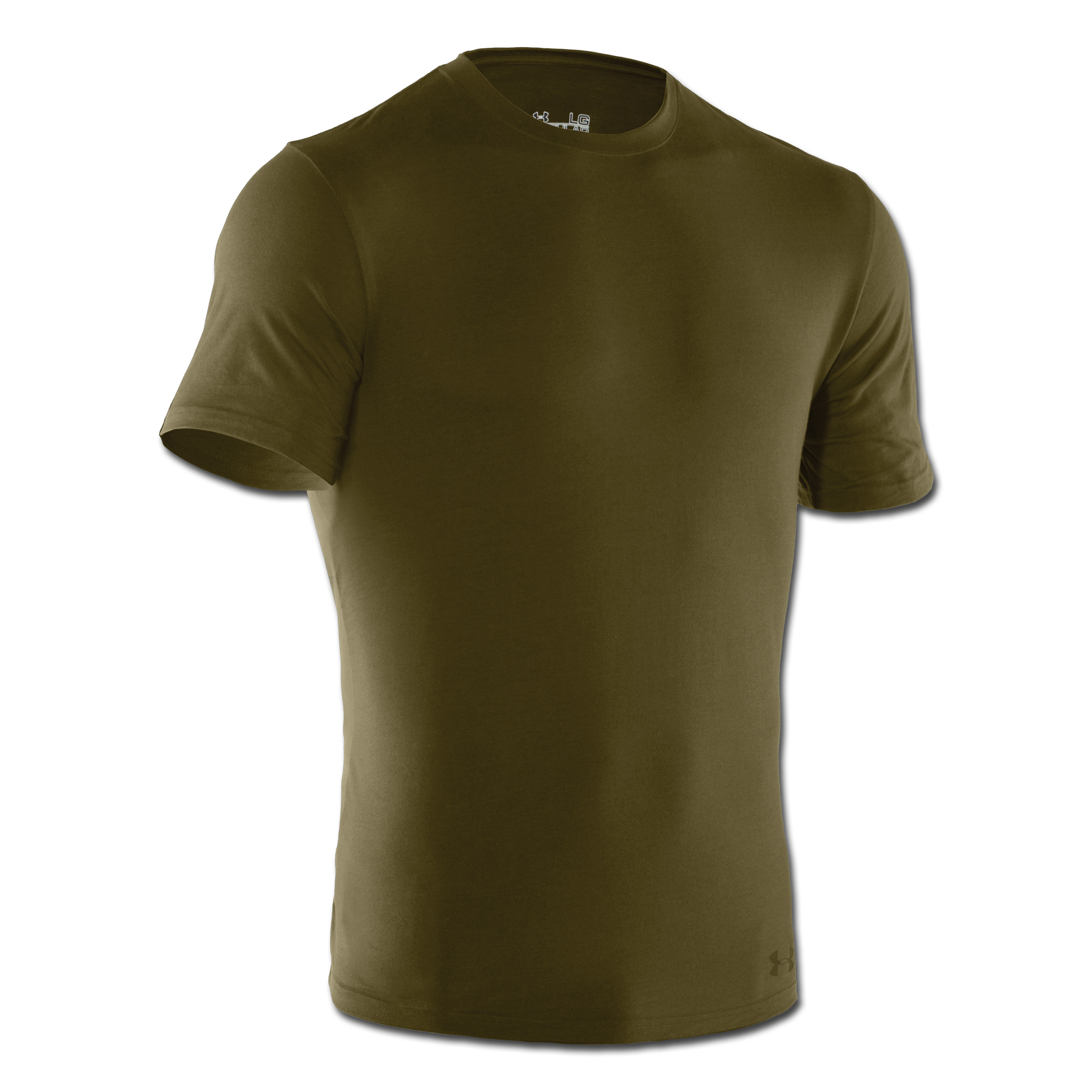 Under Armour Tactical T-Shirt Charged Cotton Tee HeatGear oliv