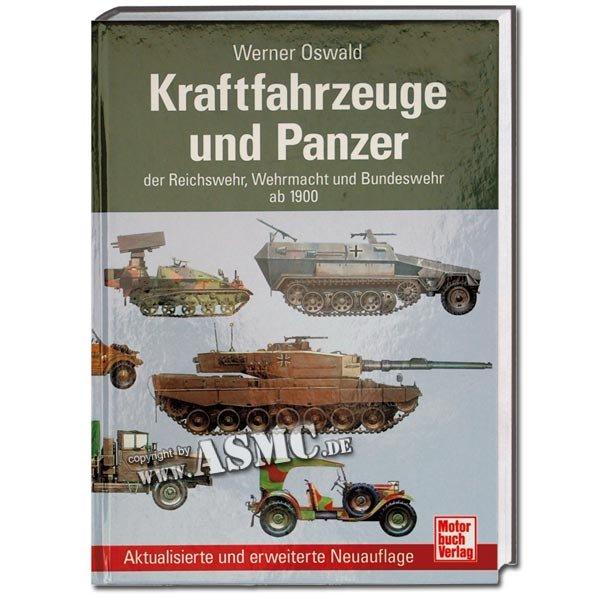 Buch Kraftfahrzeuge und Panzer