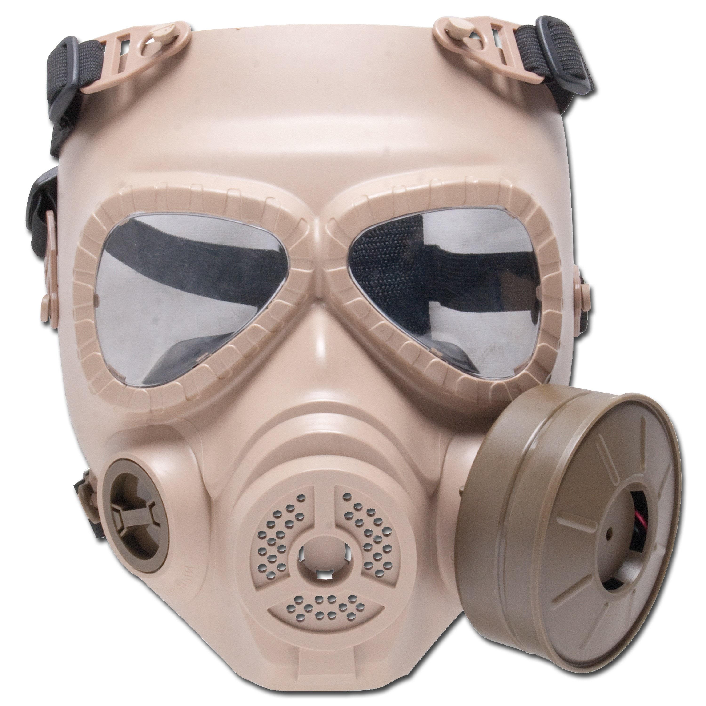 Deko-Gasmaske GSG M04 sand