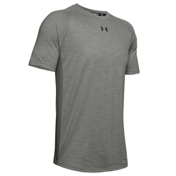 Under Armour Shirt Charged Cotton SS mood gray