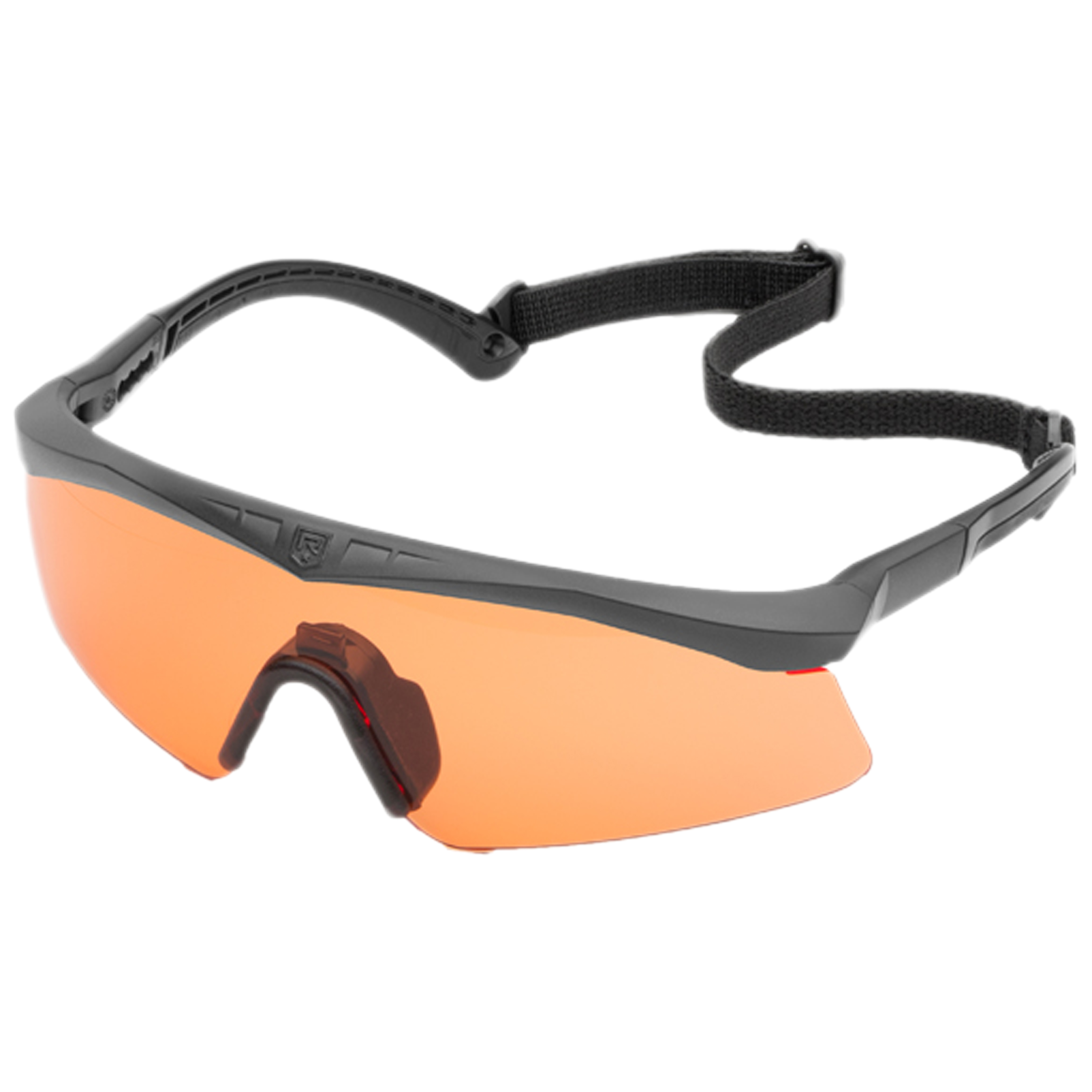 Revision Brille Sawfly Basic Kit schwarz oranges Glas