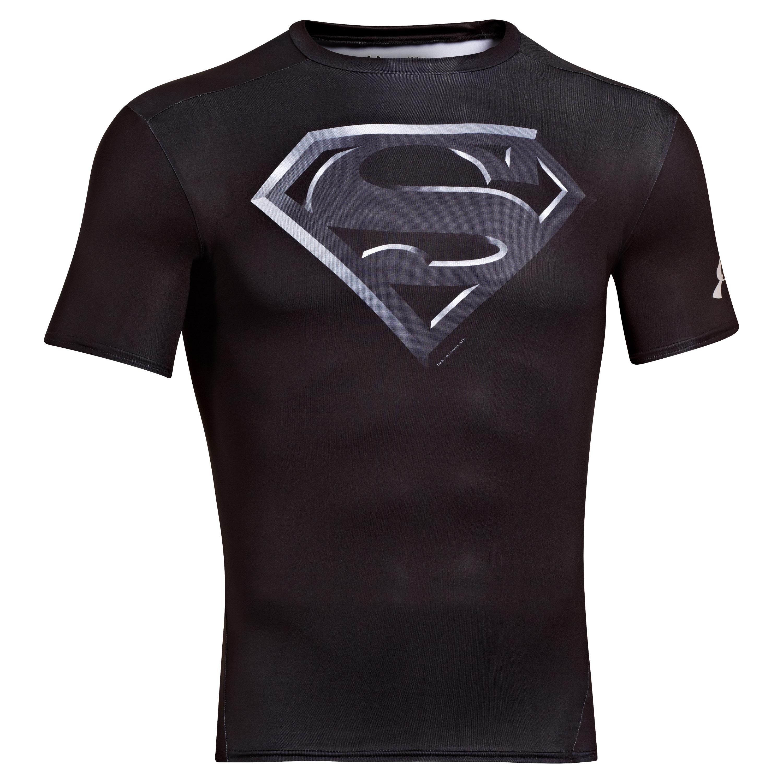 Under Armour Shirt Alter Ego Superman schwarz