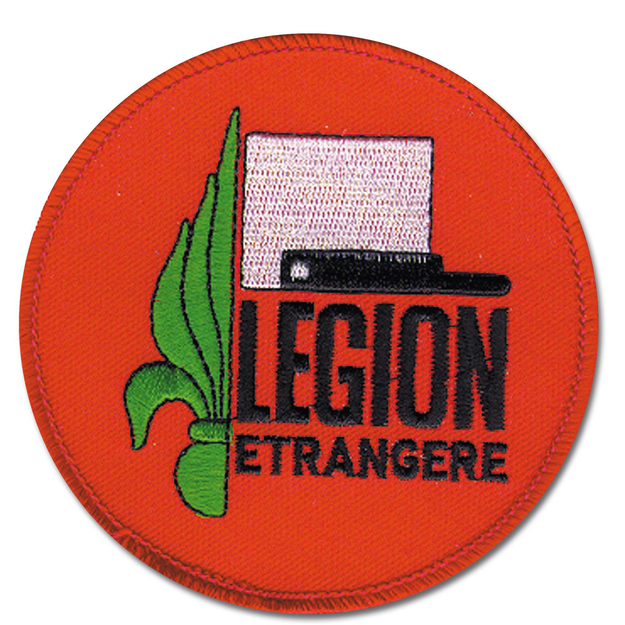 Abzeichen franz. Legion Textil rund