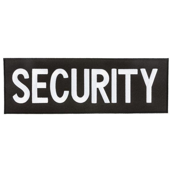 Security Patch schwarz gross
