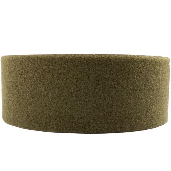 Klettband oliv 100mm flausch Meterware