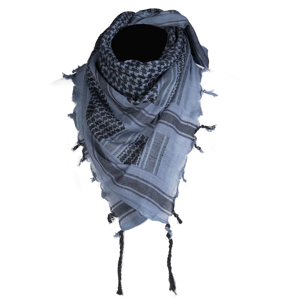 Mil-Tec Shemagh 110x110 cm blau schwarz