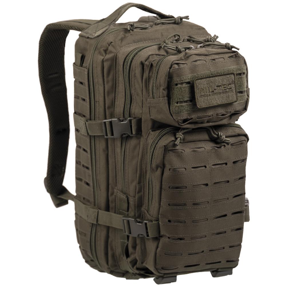 Rucksack US Assault Pack SM Laser Cut oliv