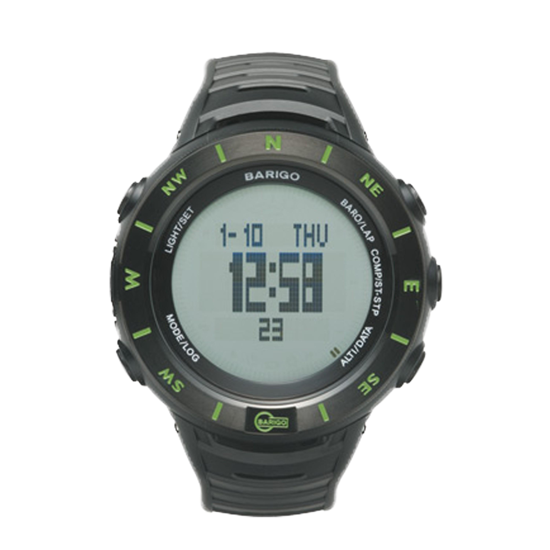 Barigo Multifunktionsuhr E7 grün/schwarz